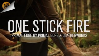 One Stick Fire: Primal Edge | Bushcraft Challenge