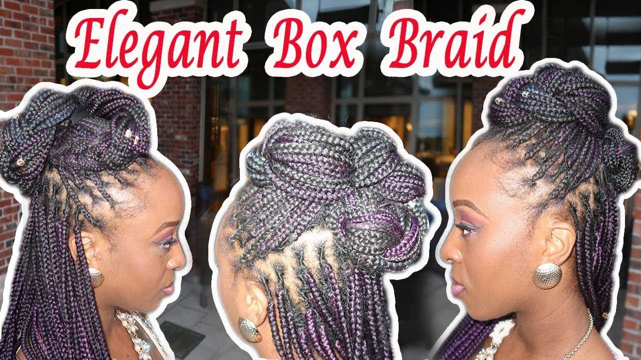 box braids hairstyles for wedding