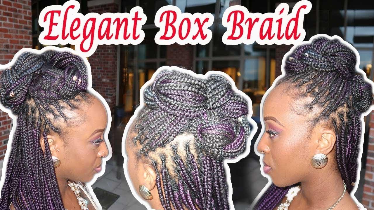 box braids hairstyles for wedding