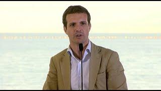 """Casado dice que Sánchez """"no merece la abstención del PP"""""""