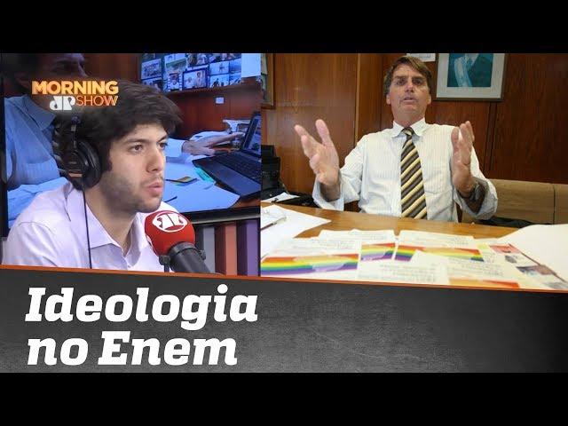 Caio Coppolla comenta ideologia no Enem