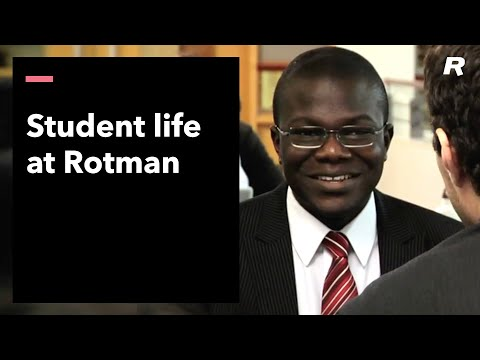 Student Life at the Rotman School