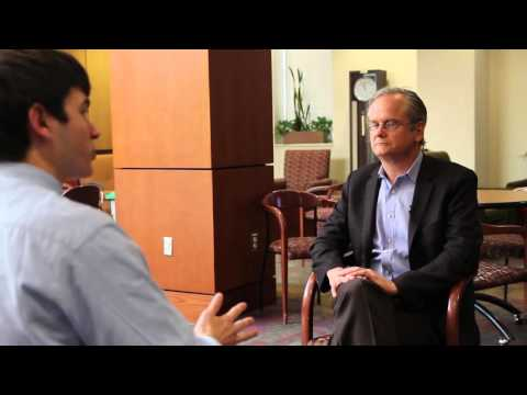 Lawrence Lessig discusses HB2, campaign finance reform