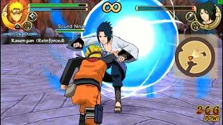 Naruto Shippuden Ultimate Ninja Impact Walkthrough Part 14 Naruto vs Sasuke (60 FPS)