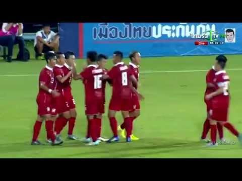 คลิปไฮไลท์ AFC U19 ทีมชาติไทย 3-0 ไต้หวัน