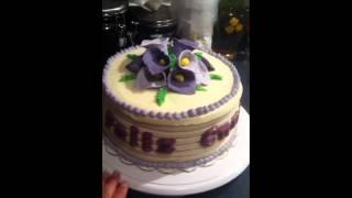Calla Lilly Italian Cream Cake