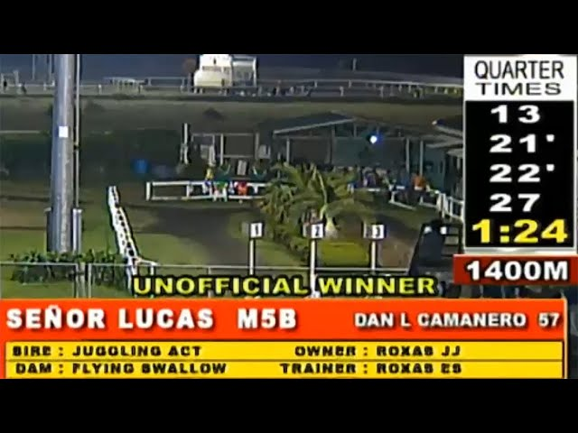 SEÑOR LUCAS - MMTCI RACE 10 JANUARY 26, 2020 BAYANG KARERISTA HORSE RACING AT METRO TURF