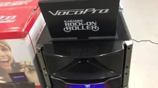 Vocopro karaoke rock-on roller