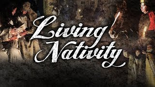 Living Nativity at DC Church