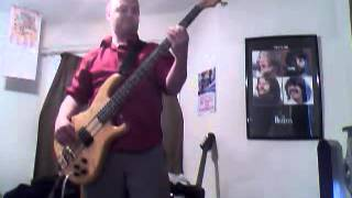 Duran Duran - Last Chance on The Stairway Bass Cover