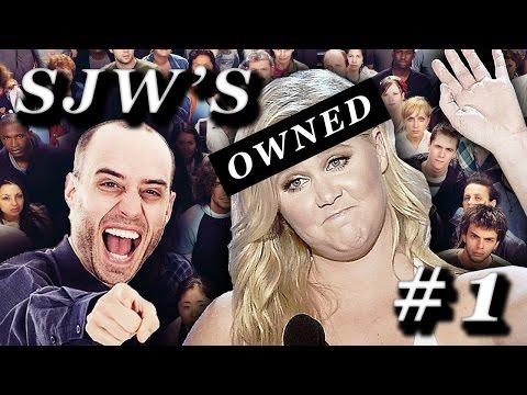 SJW'S Owned Compilation #1 - SJW CRINGE MACHINE
