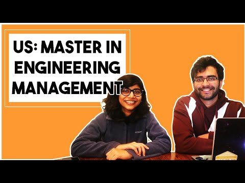Master in Engineering Management in US Universities | Jobs & Funding
