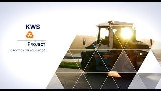 Onderhoud provinciale weg - KWS Infra - Groot Onderhoud N206