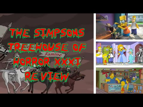 The Simpsons Treehouse of Horror XXXI Review - Treehouse of Horror Countdown, Day 31