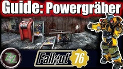 Fallout 76 Guide (Deutsch/German) Powergräber Quest - Bagger Power Rüstung - Power Armor Station