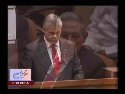Discurso del Presidente de los Consejo de Estado y Ministro Miguel Díaz Canel Bermudez
