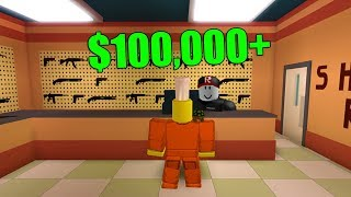 GETTING THE MAX CASH FROM ROBBING STORES (Roblox Jailbreak)