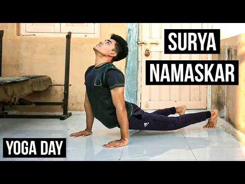 surya namaskar  international yoga day  vadher fitness