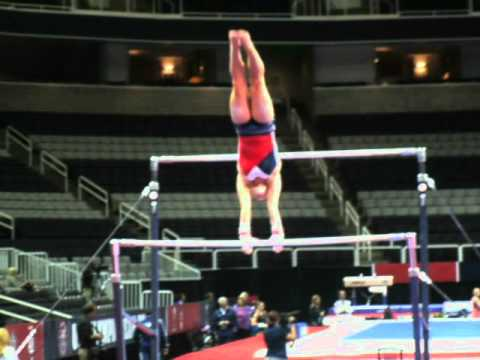 Bridget Sloan - Bars - 2012 U.S. Olympic Trials (Podium Training)