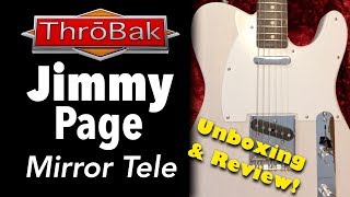 Gambar cover Jimmy Page Mirror Telecaster Unboxing: Artist Signature Guitar Review by ThroBak