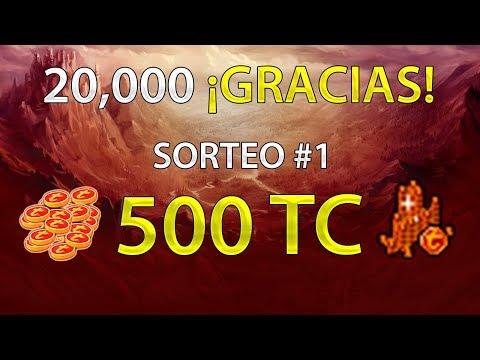 Tibia: SORTEO DE 500 TC | ¡Participa! | 20,000 Gracias!!