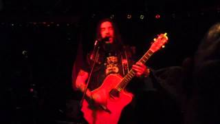 Robb Flynn Acoustic Hollywood Show - Descend The Shades of