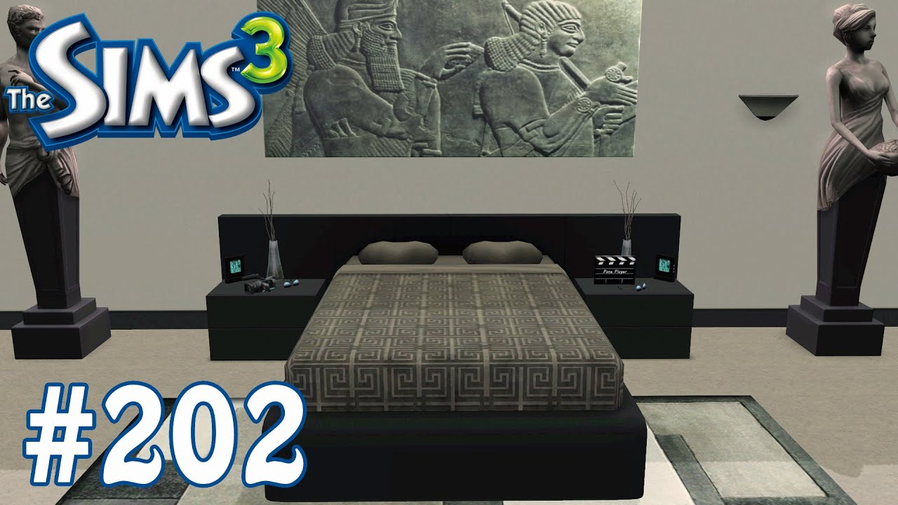 Sims 3 Bedroom The Sims 3 Versace Bedroom Part 202 Youtube