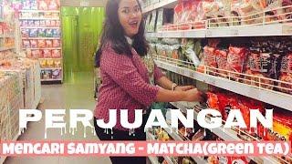 #ANGGITAVLOG1 - Perjuangan Mencari SAMYANG - MATCHA (Green Tea)