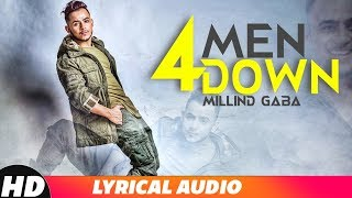 4 Men Down (Audio Lyrical) | Millind Gaba | Latest Punjabi Songs 2018 | Speed Records