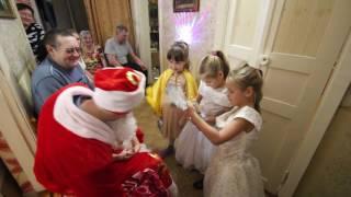 Дети рассказывают стихи Деду Морозу(Спасибо за то, что посмотрели видео