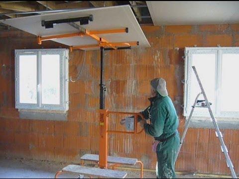 travaux decoration faux plafond placo platre ba13 doovi. Black Bedroom Furniture Sets. Home Design Ideas
