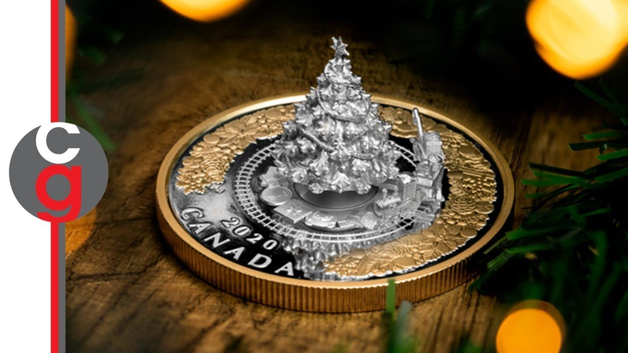 Christmas Silver Coin 2020 The coin so sought after it SOLD OUT before the official release