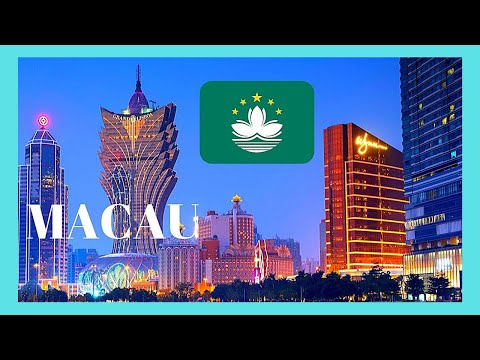 MACAU (CHINA), the majestic GRAND LISBOA HOTEl and CASINO
