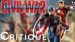 La critique de Captain America: Civil War
