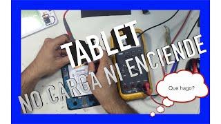 Tablet Samsung no enciende no carga