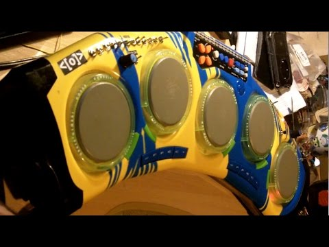 circuit bent toy drum machine by psychiceyeclix youtube. Black Bedroom Furniture Sets. Home Design Ideas