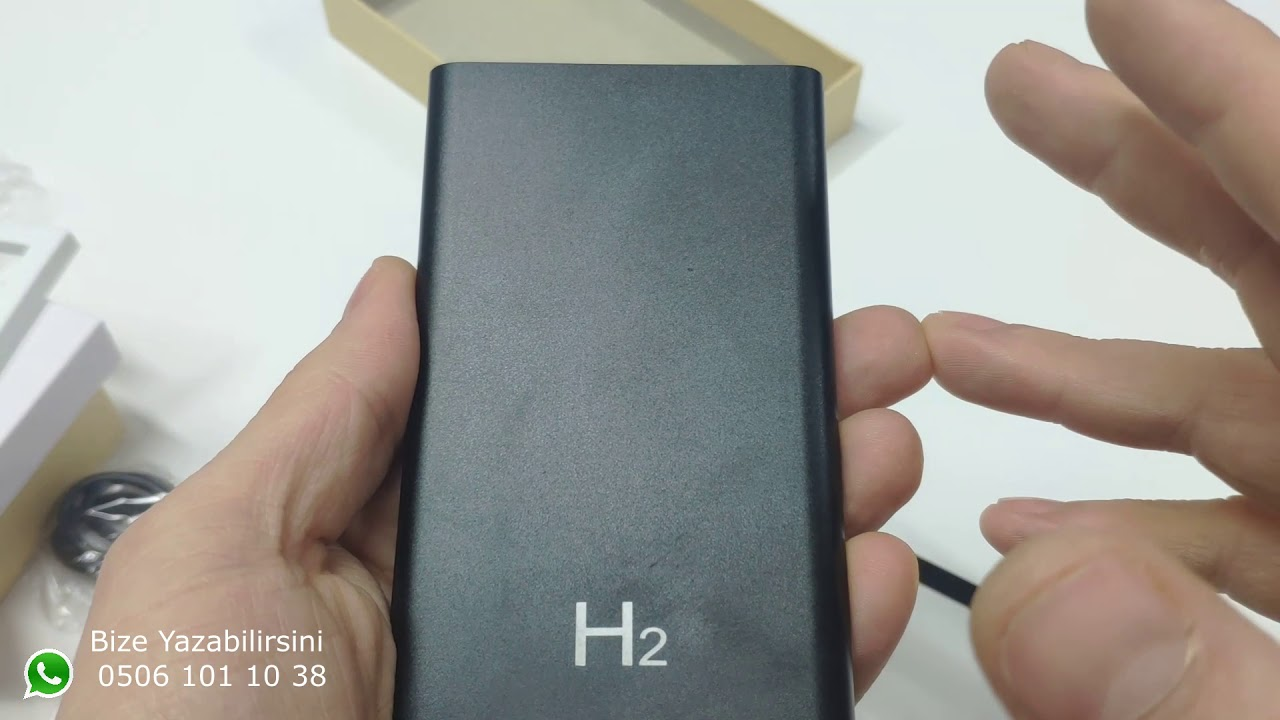 H2 Power Bank Kablosuz Gizli Kamera Full HD 1080P