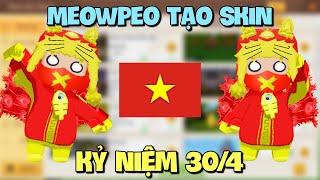 Meowpeo tạo Skin Kỷ Niệm 45 Năm Ngày Giải Phóng Miền Nam 30/4 trong Mini World và cái kết bất ngờ