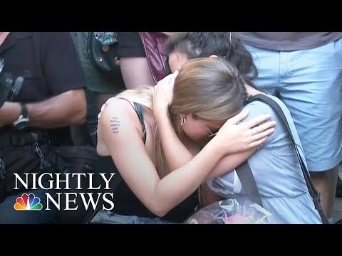 Spain Terror: Manhunt For Attack Suspects | NBC Nightly News