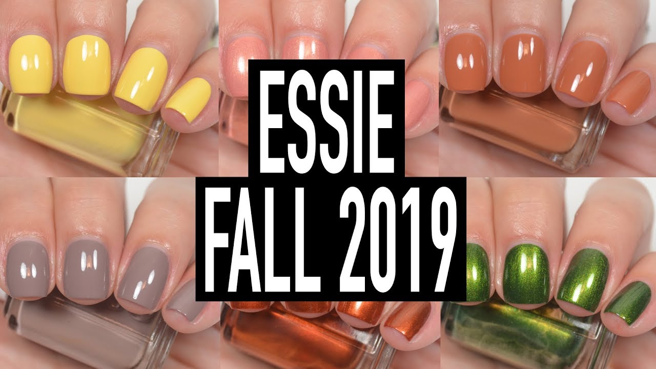 Essie Fall 2019 Swatch Review