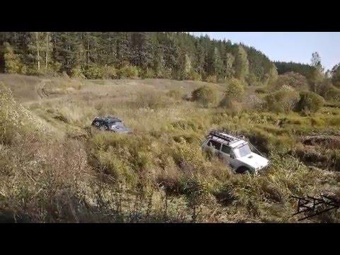 Lada Niva with Torsen LSD Offroad Manual Winch Лада Нива с Самоблоком Покатушки на Ручной Лебёдке