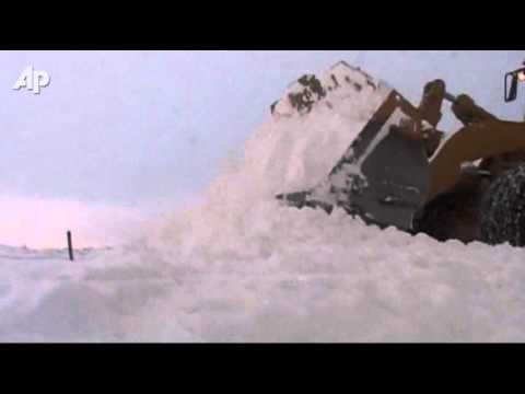 Raw Video: Deadly Winter Weather in Serbia