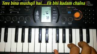 Mere Humsafar (Mithoon, Tulsi Kumar)  - All Is Well - Piano Tutorial By Pritesh Barot