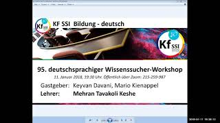 2018 01 11 PM Public Teachings in German - Öffentliche Schulungen in Deutsch