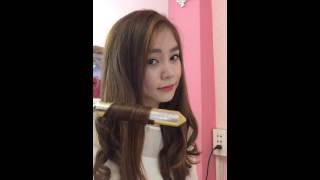 Cách uốn tóc đơn giản cho bạn gái