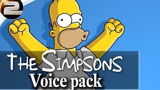 Recursion Real Time Stat Tracker - Simpsons Voice Pack