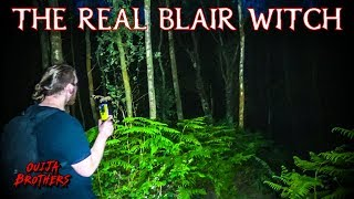 Real Life BLAIR WITCH! ( I Nearly DIED )