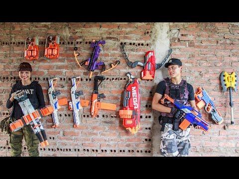 LTT Nerf War : SEAL X Warriors Nerf Guns Fight Criminal Group CrossFire Legends