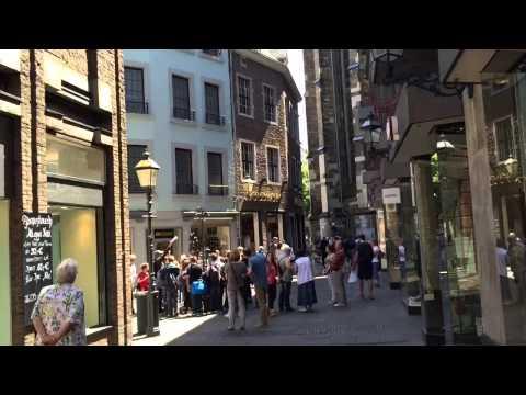 Beautiful Aachen City NRW Germany (Dom und Rathaus Umgebung)