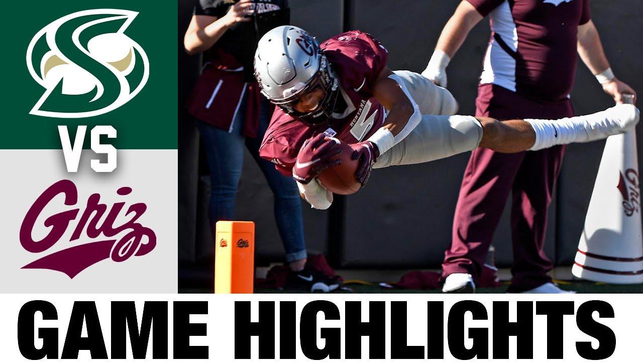 Sacramento State vs #5 Montana   FCS Week 7   2021 College Football